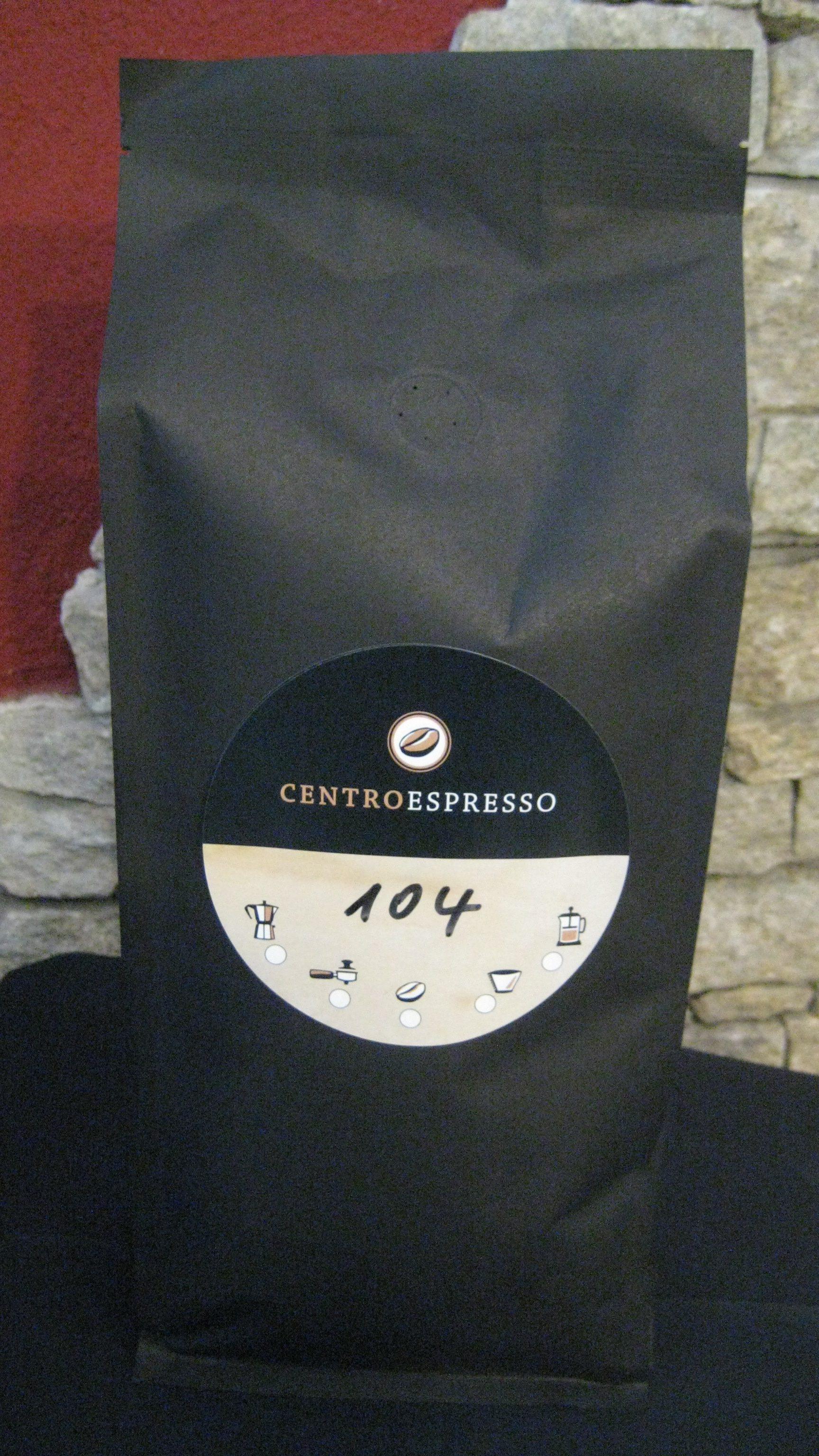 Centro Espresso 100% Bio Arabica