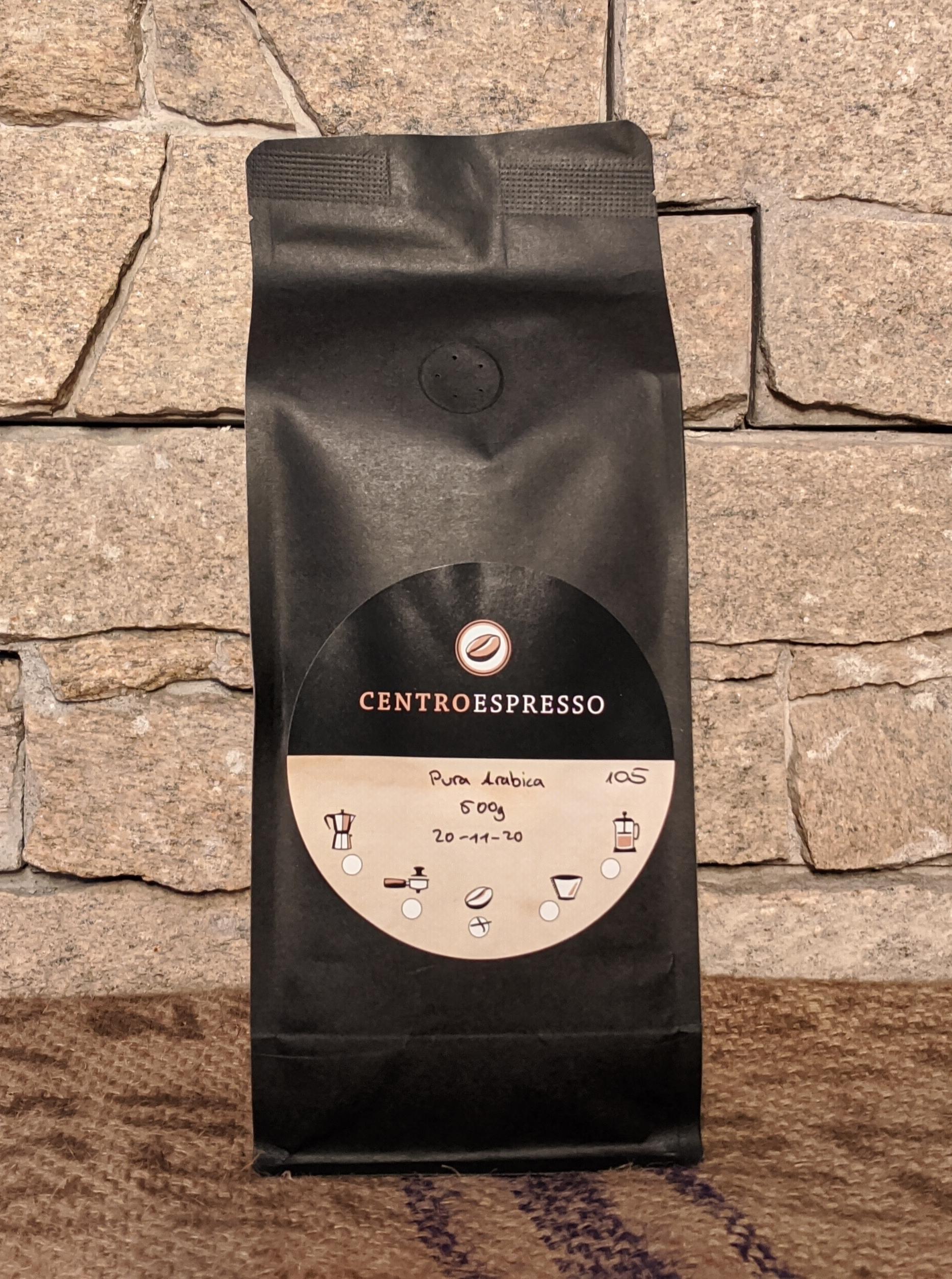 500 g Centro Espresso 100%  Arabica